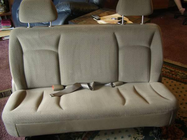 Van Seats, 2nd and 3rd row - $100