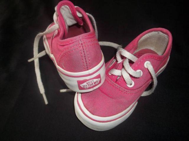 37539565224731 Vans Off The Wall♥ size 6 Baby TODDLER Girls PINK Shoes for sale in Tacoma