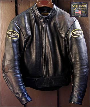Used vanson leather jackets