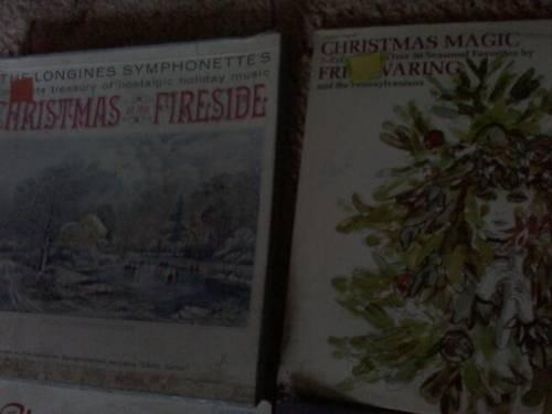 Various Vintage Christmas LP's $3.00 Each POST # 1