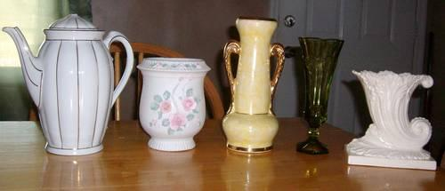 Vases and Misc Pottery