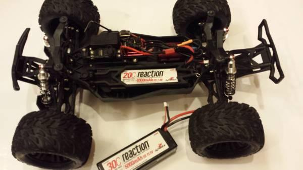 Vaterra Halix 110 RC 4x4 Monster Truck - $495