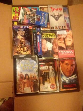 VCR With 100 Movies - $40
