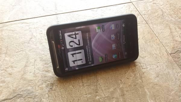 Verizon HTC Thunderbolt 4G LTE + Case - $85