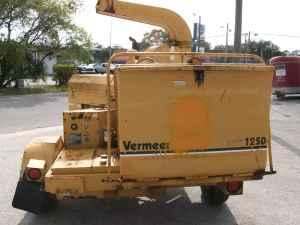 Vermeer 1250bc Chipper Bradenton For Sale In Sarasota