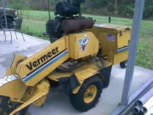 Vermeer SC252 Self-Propelled Stump Grinder, Traile - $5000 NE SD