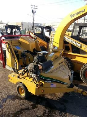 Vermeer Wood Chipper BC600XL 400 hours