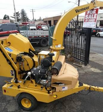 Vermeer Wood Chipper BC600XL 4831 Hours