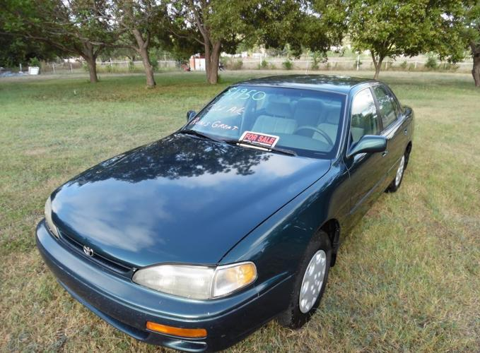 very nice 1996 toyota camry for sale in leander texas classified. Black Bedroom Furniture Sets. Home Design Ideas