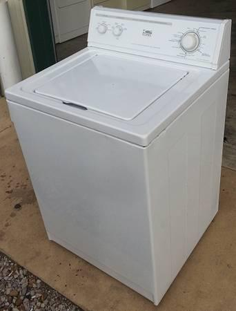 Very Nice Estate Washer Super Capacity Free Delivery