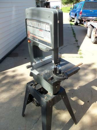 Very Nice - Sears, 12-In. Band Saw WStand, New Blade,  Pulley Belt