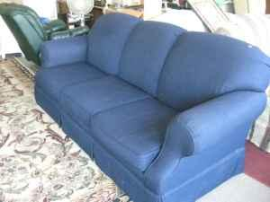 Very Nice Sofa And Rocker Love Seat Blue By Sofe Express 250 Murray Hill
