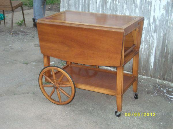 Very Nice Tea Cart Table South Hutchinson For Sale In