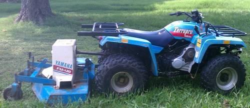 Very Rare 1988 350 Yamaha Terrapro PTO Finish Mower - $2000 (Corbin)KY