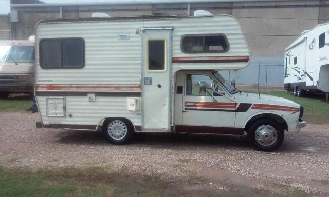 Very Rare 80 Toyota Dolphin 19 Foot Mini Rv Immaculate