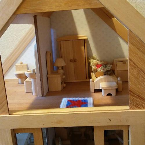 Very sweet DOLL HOUSE, fully furnished with 3 resi