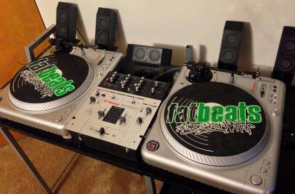 vestax dj set turntables mixer for sale in twin falls idaho classified. Black Bedroom Furniture Sets. Home Design Ideas