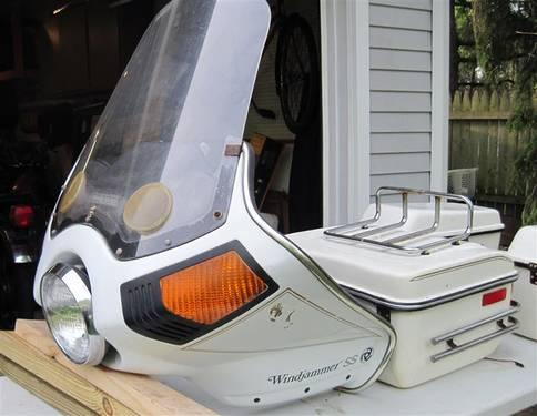 Vintage vetter fairing
