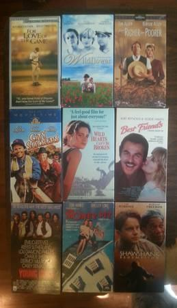 VHS MOVIES - $1