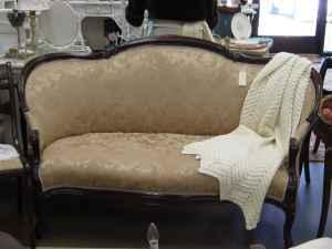Victorian Settee Sofa Love Seat New Upholstery Sale On