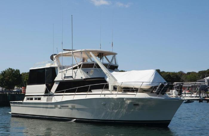 Viking 50 cockpit motor yacht for sale in dania florida for Boat motors for sale in florida