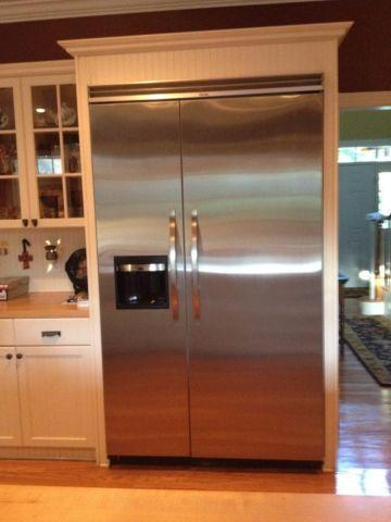 Viking Built In 48 Inch Stainless Steel Refrigerator For