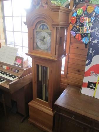 Viking Grandfather Clock For Sale In Kalkaska Michigan