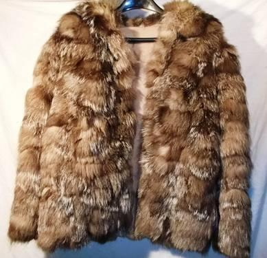 Vintage 100% REAL rabbit fur coat jacket - VERY NICE for sale in Smithtown 74bab1804