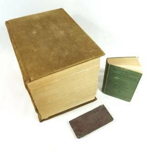 Vintage 1914 Century Dictionary - 9