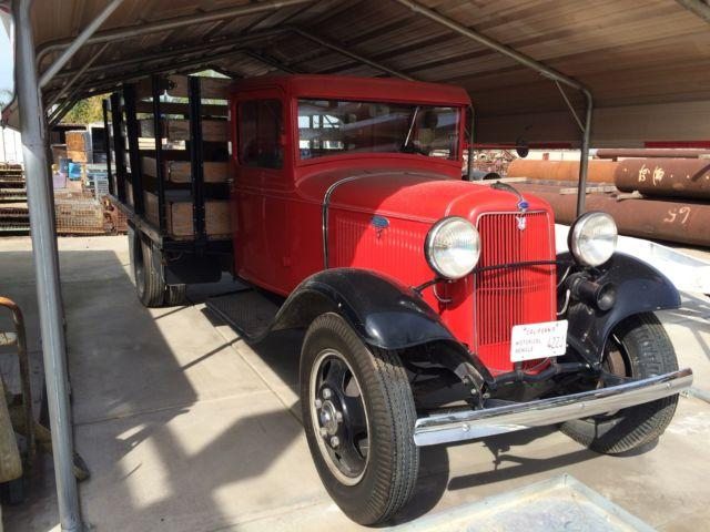 vintage 1934 ford model bb truck for sale in bakersfield california classified. Black Bedroom Furniture Sets. Home Design Ideas