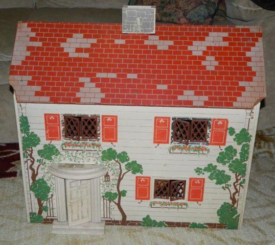 vintage 1940s keystone dollhouse obo for sale in kalamazoo michigan Doll Houses France vintage 1940s keystone dollhouse obo