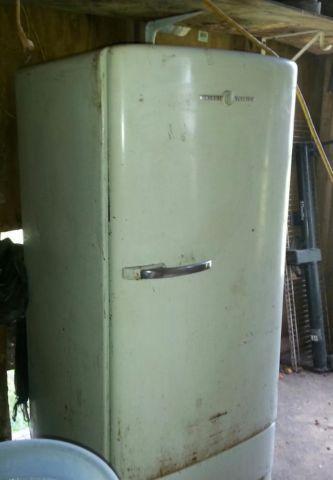 Vintage 1950s General Electric Refrigerator