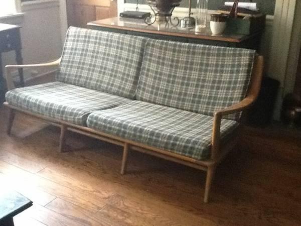 Vintage 1950s Heywood Wakefield Aristocraft Sofa No M932