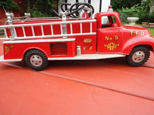 Vintage 1956 TONKA Pumper Fire Truck No. 5