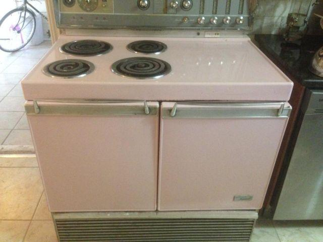 Vintage Ge Electric Stoves For Sale ~ Vintage ge pink free standing quot range for sale in