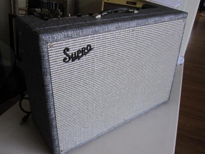 Vintage 1965 supro big star tube guitar amp valco