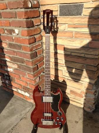 vintage 1970 71 gibson eb 3 electric bass guitar for sale in buena park california classified. Black Bedroom Furniture Sets. Home Design Ideas