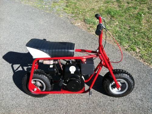 Vintage 1970s Ruttman mini bike minibike Tecumseh 4hp