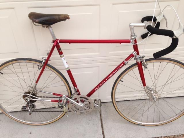 Vintage 1971 Schwinn Paramount with Campagnolo parts