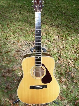 vintage 1977 yamaha fg340 acoustic guitar for sale in gainesville florida classified. Black Bedroom Furniture Sets. Home Design Ideas