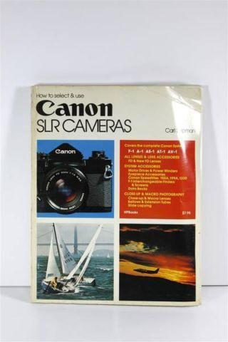 Vintage 1978 How To Use Canon SLR Cameras