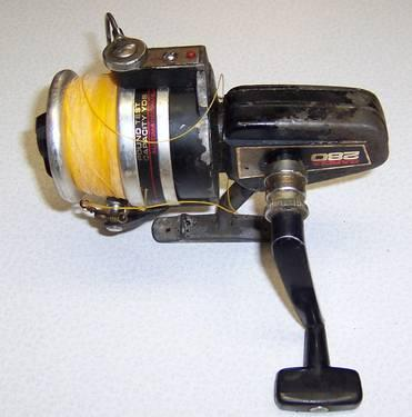 Vintage 1980 garcia 280 salt water spinning reel for sale for Used saltwater fishing reels for sale
