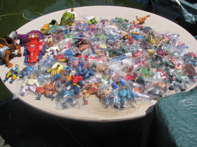 Vintage 1980's Original He Man MOTU Figures for sale:.
