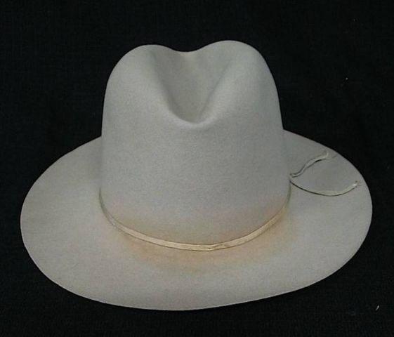 Vintage 50s STETSON Upscale Sovereign FEDORA Hat  Box