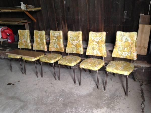kitchen chairs for sale Vintage 70s kitchen table and chairs for Sale in Williamsport  kitchen chairs for sale