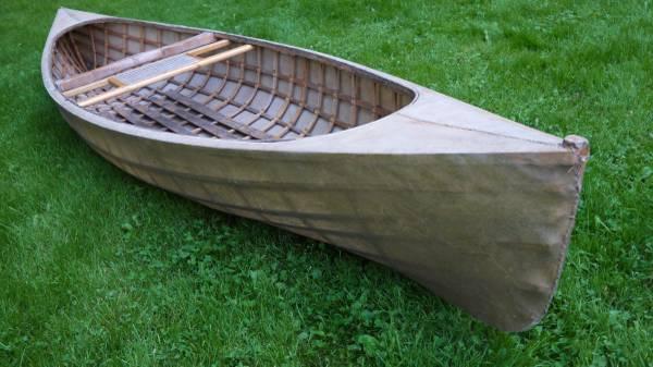 Vintage Adirondack Pack Canoe