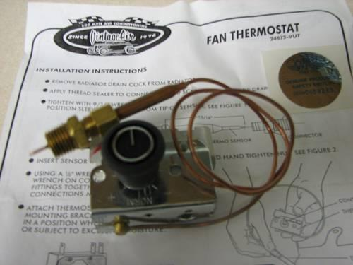 Vintage Air Fan Thermostat  24675-VUT SEE OTHER PARTS 4-SALE