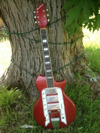 vintage airline guitar and reverb pedal for sale in tulsa oklahoma classified. Black Bedroom Furniture Sets. Home Design Ideas