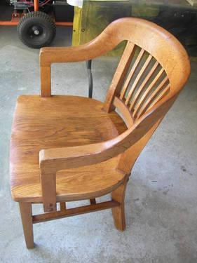 Vintage Antique W H Gunlocke Chair W Original Stamp 1910