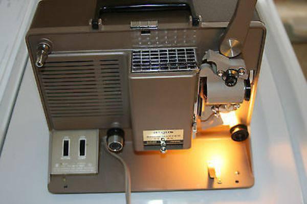 Vintage Argus Showmaster 750-AV Movie 8MM Reel to Reel ...